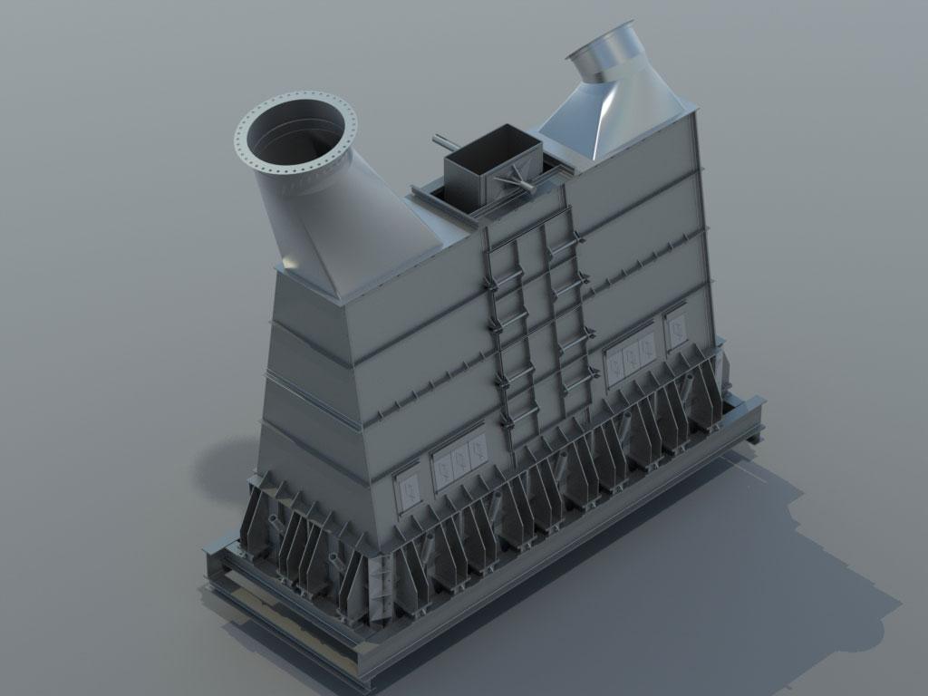Industrial CAD Design Rendering