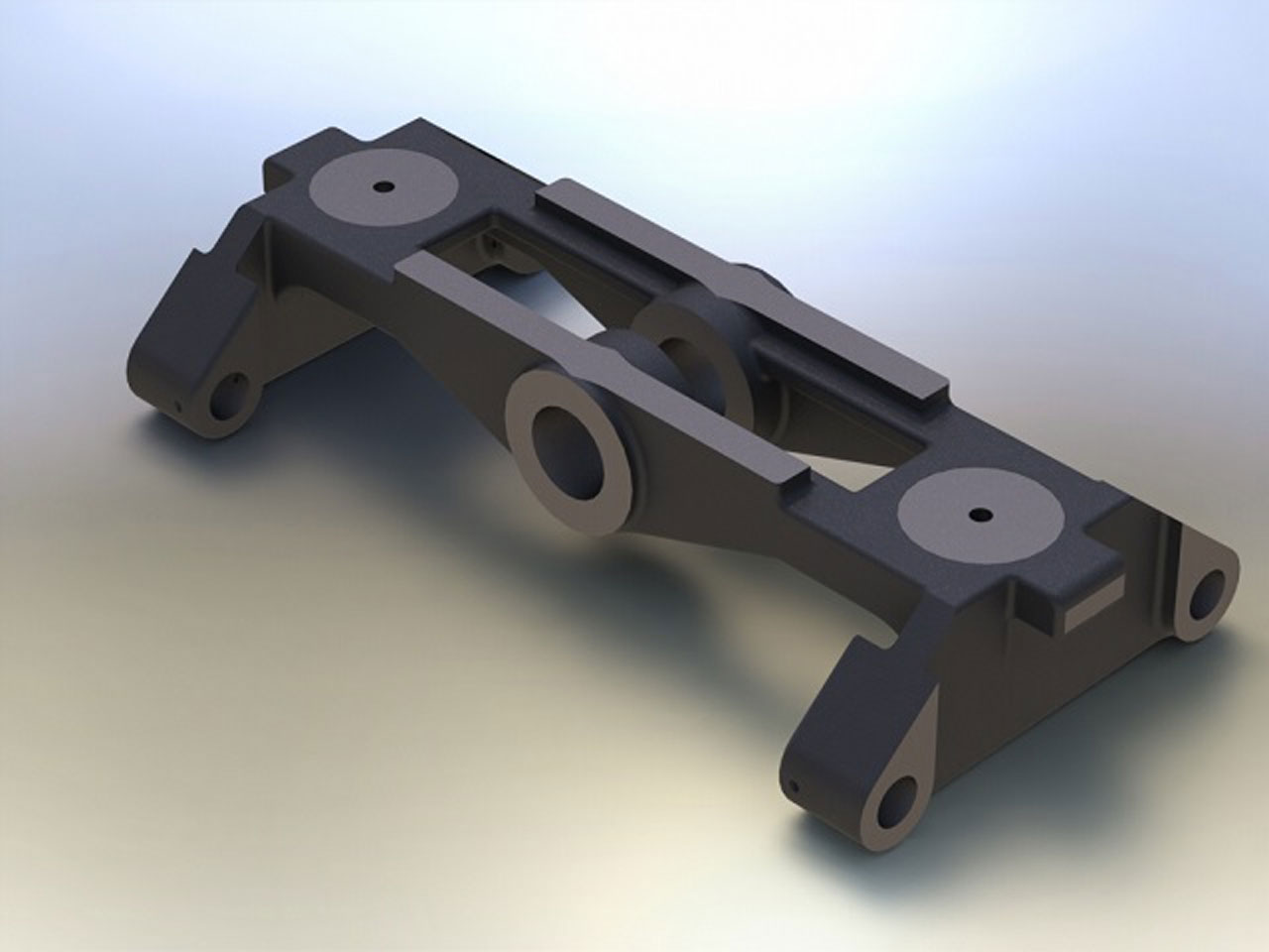 Heavy Mining Equipment CAD Rendering